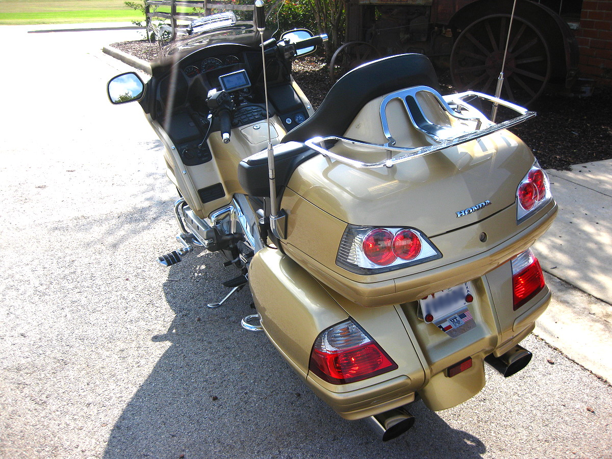 Honda Gl1800 Gold Wing Trip Hilliard